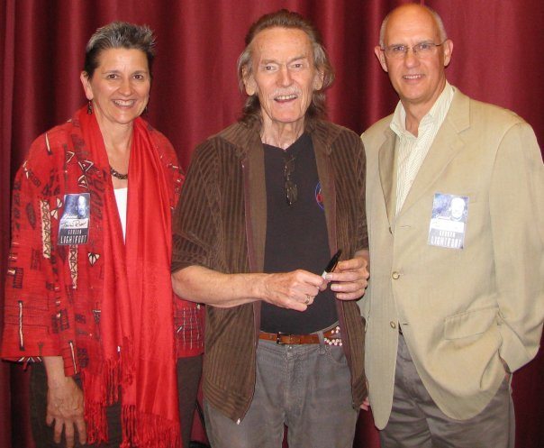Stu, his late wife Mary Beth Miller, and Gordon Lightfoot.