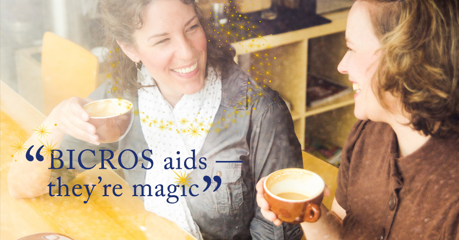 BiCROS Aids — They're Magic