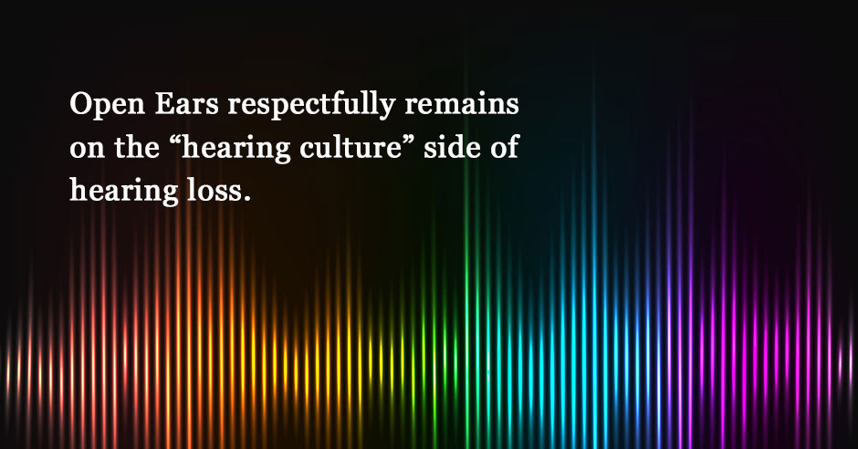 The Hearing Loss Spectrum, Between the Hearing World and Deaf Culture