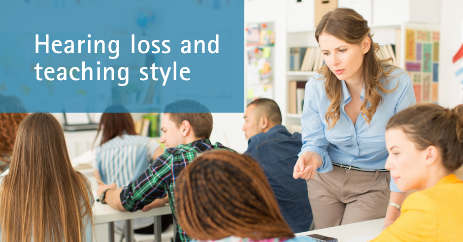 The Perils of Hearing Less in the Classroom